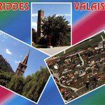 Postal de Riddes, Valais, Suiza